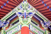 chinese colorful eave