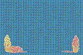 Hintergrund Sprinkles und Icecream
