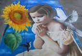 Arte de pintura murales