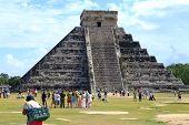 Mayan pyramid in Mexico