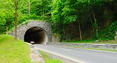 picture of gatlinburg  - Tunnel on the Parkway  - JPG
