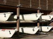 Six Sailboats