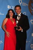 LAS VEGAS - JUNE 19:  Lisa Oz, Dr. Mehmet Oz in the Press Room of the  38th Daytime Emmy Awards at H