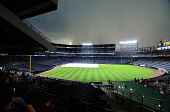 Turner Field Rainout