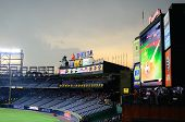 Rainout At Turner Field