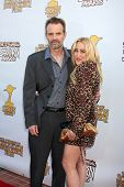 LOS ANGELES - JUN 23:  Michael Biehn, Jennifer Blanc-Biehn arriving at the 2011 Saturn Awards  at Ca