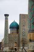 foto of samarqand  - Registan Ensemble in Samarkand - JPG