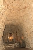 Underground City In Naours, Picardy, France