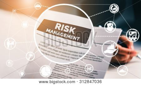 poster of Risk Management And Assessment For Business.