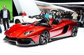 GENEVA - MARCH 12: Mansory Lamborghini Aventador on display at 82nd Geneva Motor Show on March 12, 2