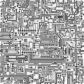 Vector textura perfeita. Conexões e contatos.
