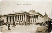 Paris Bourse Postcard