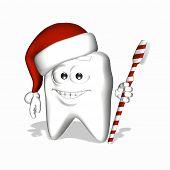Постер, плакат: Смайлик зуб Помните кисти