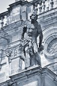 Sculpture on the Reichstag building (Berlin, Germany)