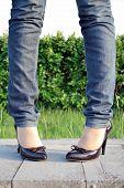 Woman'S Legs, Shoes