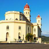 The church of El Cobre in Santiago de Cuba, home to the virgin of La Caridad del Cobre, patron of the island