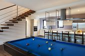stock photo of duplex  - Beautiful modern loft - JPG