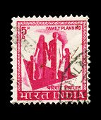 indische Post Stempel