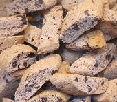 Cantuccini alla mandorla, italian cookies