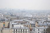 Skyline of Paris city