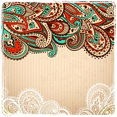 Beautiful Vintage paisley
