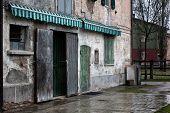 Old stucco house, Italian Architecture - Emilia Romagna