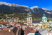 Innsbruck, View Over City, Tyrol
