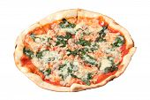 Pizza With Chicken And Spinach