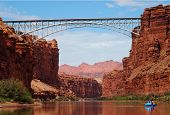 Navajo Bridges over Colorado River