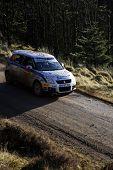 Suzuki Team At Wales Rally Gb 2008