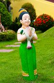 Thai ceramic doll