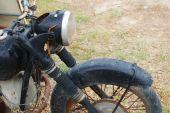 Old Rusty Motorbike