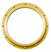 Blank Porthole Brass