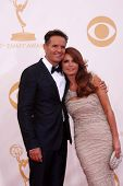 LOS ANGELES - SEP 22:  Mark Burnett, Roma Downey at the  at Nokia Theater on September 22, 2013 in L