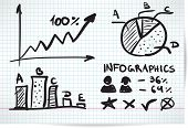 Infographics style sketch