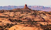 Petrified Sand Dunes Garden Of Eden Fault Arches National Park Moab Utah