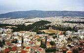 Athens seen form Acropolis, Greece