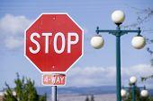 Stop Sign, USA