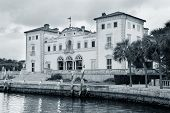 Miami Vizcaya museum at waterfront