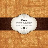 pic of restaurant  - Restaurant menu design - JPG