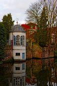Canals Of Bruges (brugge), Belgium