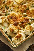 Homemade Cheesey Scalloped Potatoes