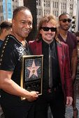 LOS ANGELES - MAR 6:  Ray Parker Jr, Richie Sambora at the Ray Parker Jr Hollywood Walk of Fame Star Ceremony at Walk of Fame on March 6, 2014 in Los Angeles, CA