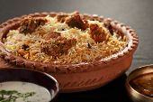 Mutton Gosht Biryani from India