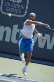 James Blake at the Los Angeles Open Tennis Tournament