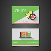 Business Card Template - Corporate Identity Design