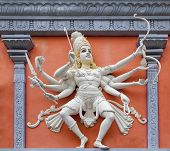 Nataraj Dancing War Shiva Wall Relief Statue