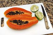 Papaya And Lime