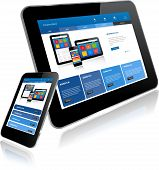 Tablet Pc And Smart Phone