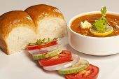picture of haldi  - Pav bhaji masala - Indian snack made of mashed vegetables